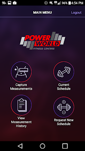 Power World Gyms Members' App- screenshot thumbnail