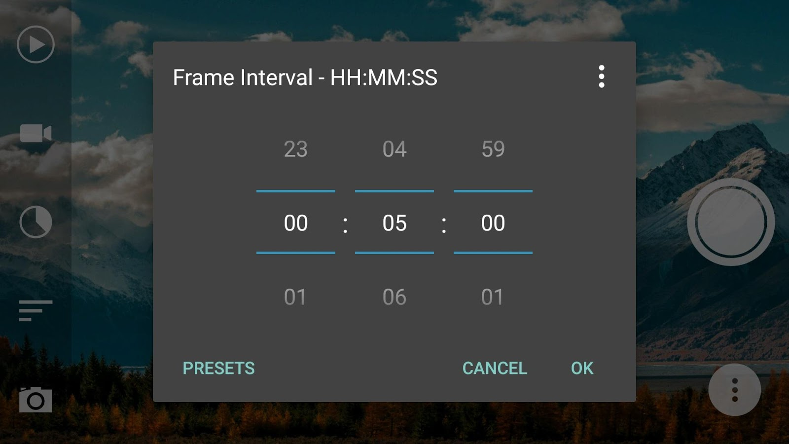 Framelapse - Time Lapse Camera- screenshot