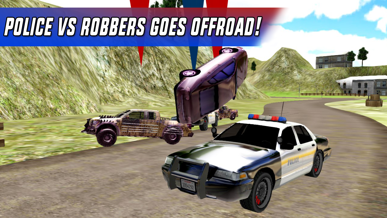Police Car Chase Offroad- screenshot