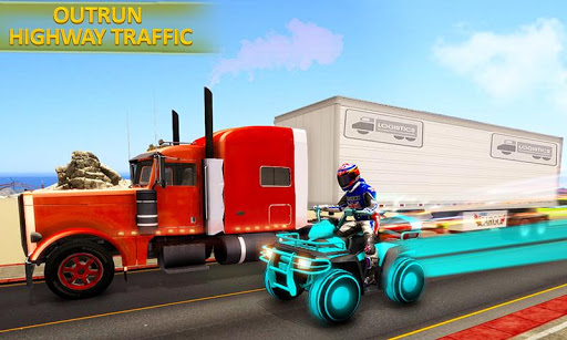 PC u7528 Light ATV Quad Bike Racing, Traffic Racing Games 2