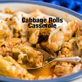 Cabbage Rolls Casserole