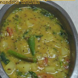 Potato And Dal Curry Recipes.