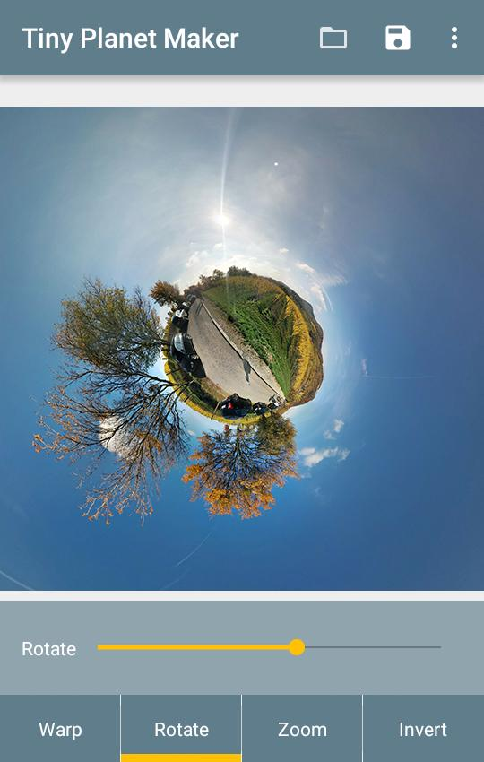 Tiny Planet Maker- screenshot