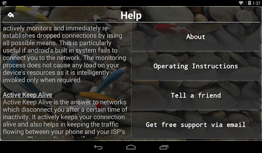 App Connection Stabilizer Booster APK for Windows Phone