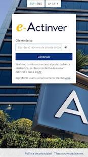 e-Actinver - náhled