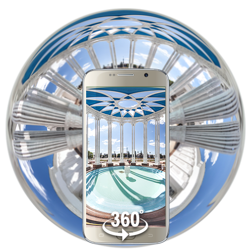 (VR Panoramic)3D MOSCOW White Palace Theme