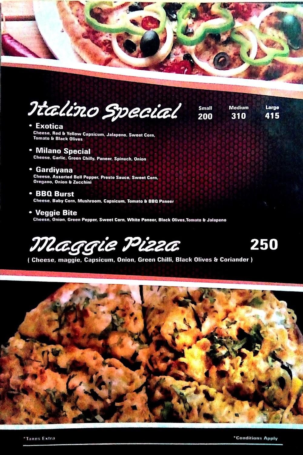 Pizza Burst Mira Road menu 5