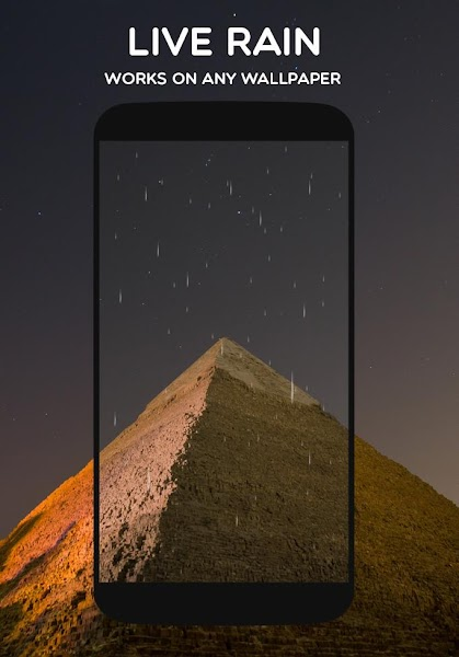 Weather Live Wallpaper Pro Screenshot Image