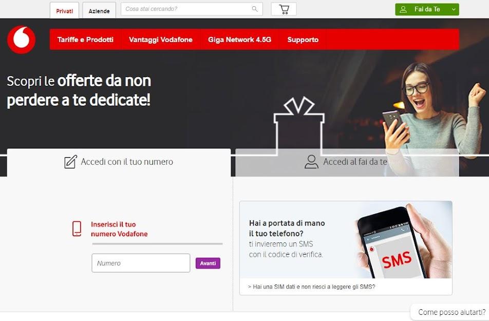 Rimodulazione Vodafone da agosto 2019