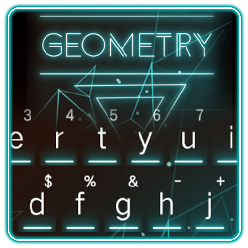 Keyboard - Geometry New Theme Android APK Download Free By Opotech