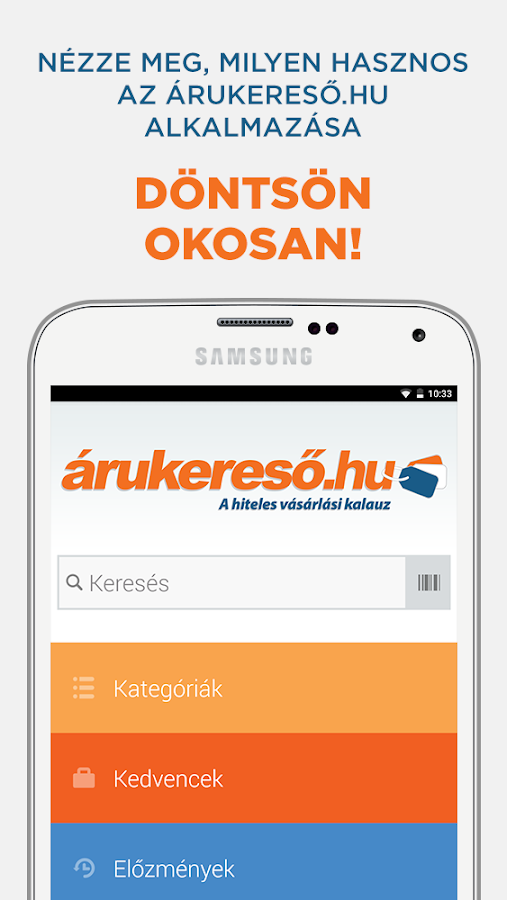 Arukereso- screenshot
