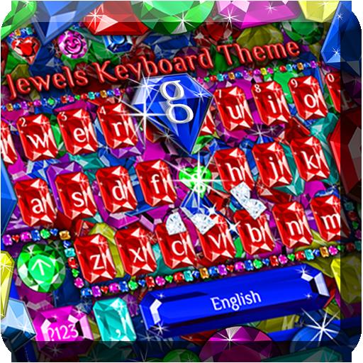 Jewels Keyboard Theme