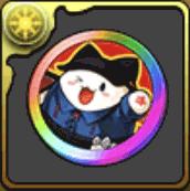 ハッピーたまドラメダル【虹】