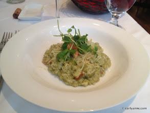 Photo: Pesto & Lobster Risotto