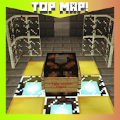 "Map ""Saw"" for Minecraft PE."
