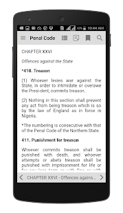 Nigeria Penal Code - náhled