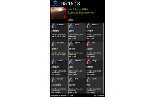 Badgeuse Pointhour (sans NFC) - náhled