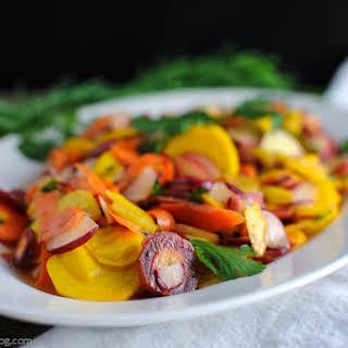 Spring Root Vegetable Salad.
