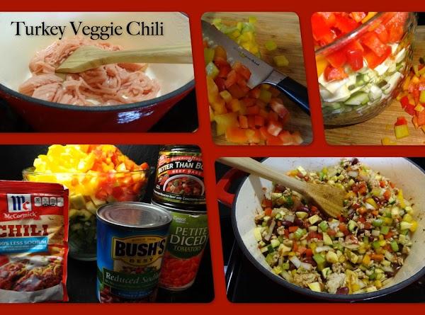 Turkey Veggie Chili Recipe