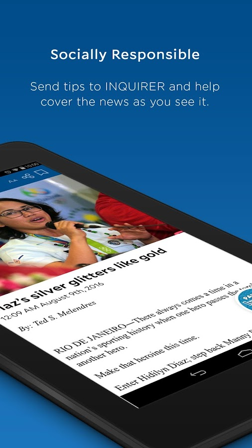 Inquirer Mobile- screenshot