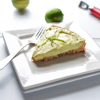 Brazilian Avocado Cheesecake.