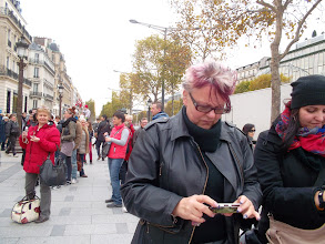 Photo: Hungarian Sibyls in Paris, remembering mlle Lenormand, esoteric Tour * www.lenormand.hu