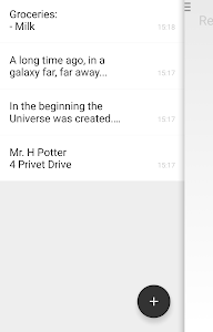 Caderno - Minimal notepad screenshot 2