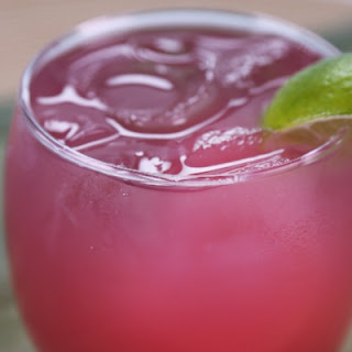 Pomegranate Lime Punch.