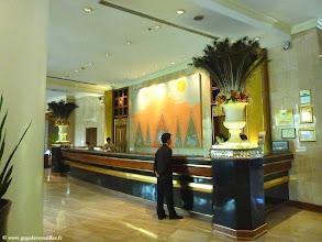 Photo: #004-Mandalay, le Mandalay Hill Resort. La réception.