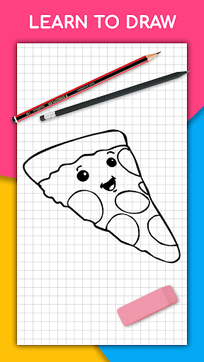 How to draw kawaii food, drinks step by step 1.2.0 screenshots 1