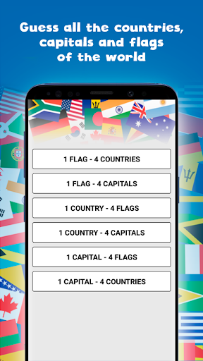 Countries, capitals and flags of the world Apk 1