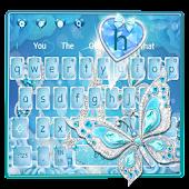Tải Crystal Diamond Butterfly Keyboard miễn phí