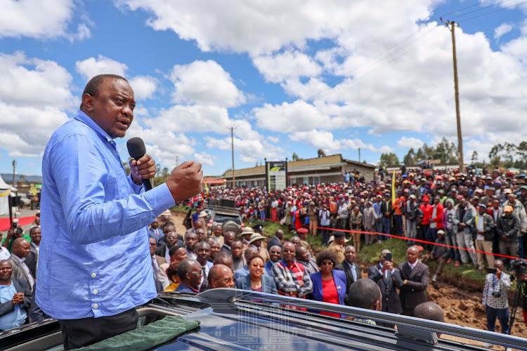 Uhuru hits back, tells Mt Kenya leaders to focus on service delivery