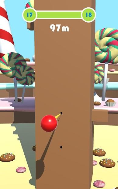 Arch Ball - Flick Ball 3D Android App Screenshot