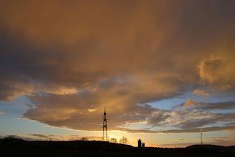 Photo: Wolken über Borken, (c) Martina Sachs
