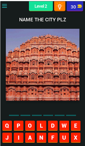 Puzzle on Indian City