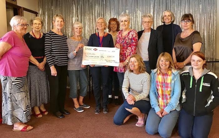 Nattering knitters raise £750 for charity