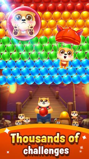 Bubble Shooter - save little puppys screenshots 5