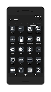 Shiroimono icon pack Apk v3 Android 4