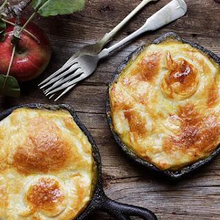 Turkey Apple Curry Pot Pie.