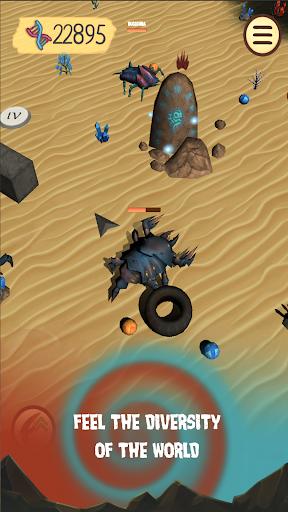 Spore Monsters.io 3D Wasteland Nomads Crab Turmoil screenshot 13