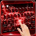 Red Lightning Keyboard Theme icon
