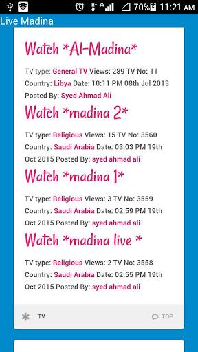Live Madina