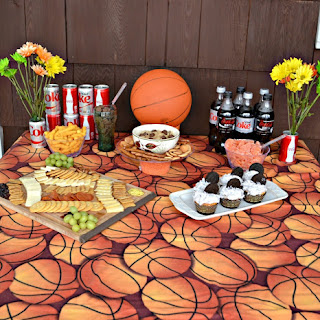 How to Host a Basketball Party + Recipes