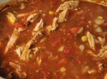 *Chicken Picadillo Chili*