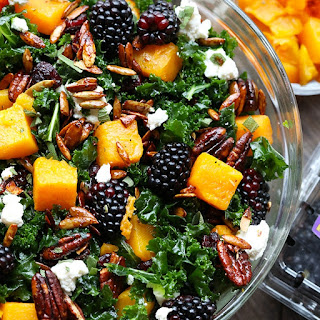 Blackberry and Butternut Squash Harvest Salad Recipe