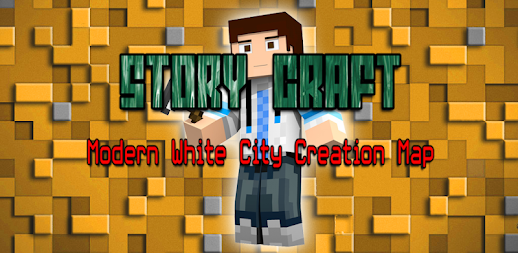 Story Craft: Modern White City Creation Map APK