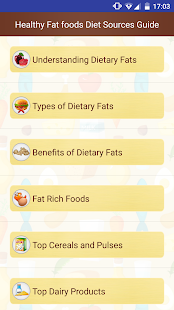 Healthy Dietary Fat Food Diet Sources Help Guide - náhled