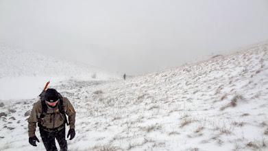 Photo: Podloga nije smrznuta, no olujna bura se brine da ne bude prelako