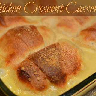 Chicken Crescent Casserole